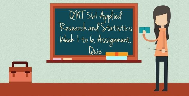 QNT 561 Applied Research and Statistics====================================Week 1Practice Quiz https://sellfy.com/p/LtS5/WEEK 2Team Assignment, Business Research Project Part 1, Formulation of the Research ProblemPractice Quiz     https://sellfy.com/p/4glC/---------