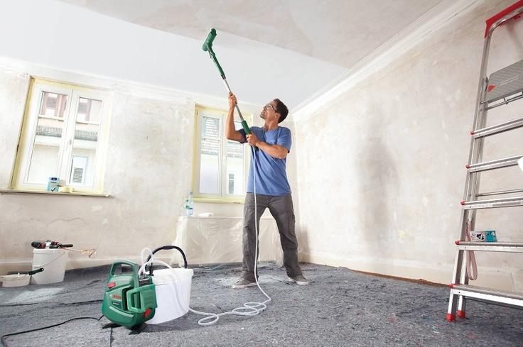 MALE TAKET UTEN SØL: Nå kan du snart male taket uten å få maling over halve gulvet. Les mer ved å klikke på linken under. Oslo (ANB)