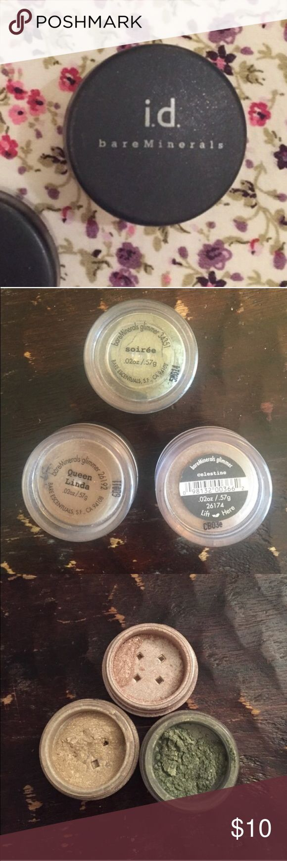 Soirée Bare Mineral Shadow! Green colored eye shadow! Barely used. Make an offer bareMinerals Makeup Eyeshadow