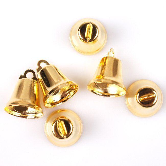 Cheap 120 pz/lotto più nuovo di fascini di tono oro ferro jingle bells misura il festival/natale decoration14 * 14*17mm 270364, Compro Qualità Decorazioni e forniture di natale direttamente da fornitori della Cina:        Descrizione           Articolo no.   270364     Quantità       120 pz         Materiali       Ferro       P
