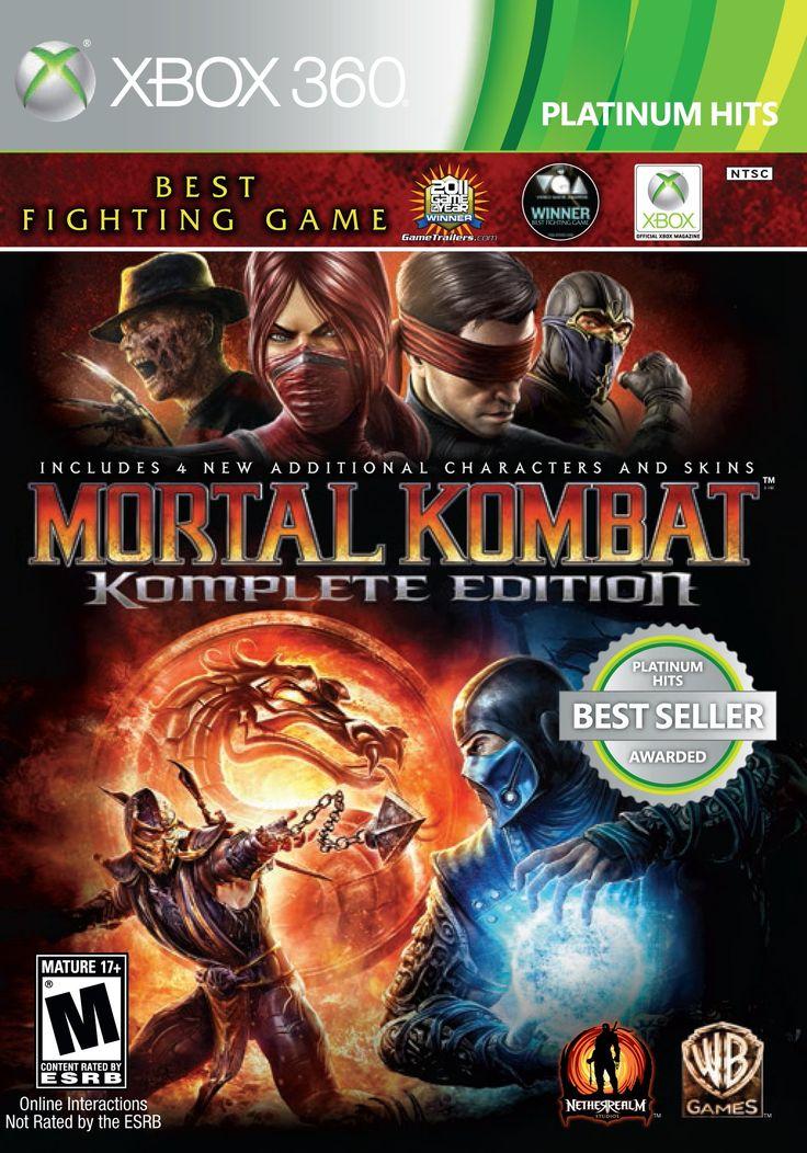 Amazon.com: Mortal Kombat: Komplete Edition - Xbox 360: microsoft xbox 360;: Video Games