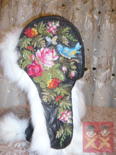 Gallery.ru / Фото #20 - Гламурная ушанка. Совместный процесс - pautinka-Lena