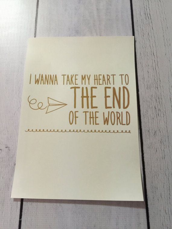 5 SECONDS OF SUMMER FOIL LYRIC ART!!  Your favourite 5SOS lyrics foil printed, ready to be framed. Perfect for yourself or as a gift!  Size: 5.83in