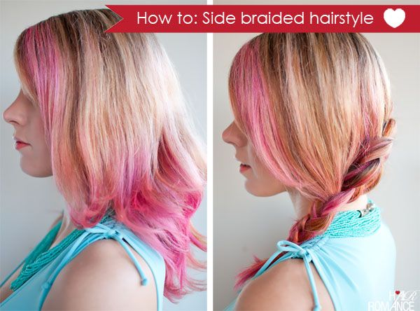 Hair Romance - How-to side braided hairstyle