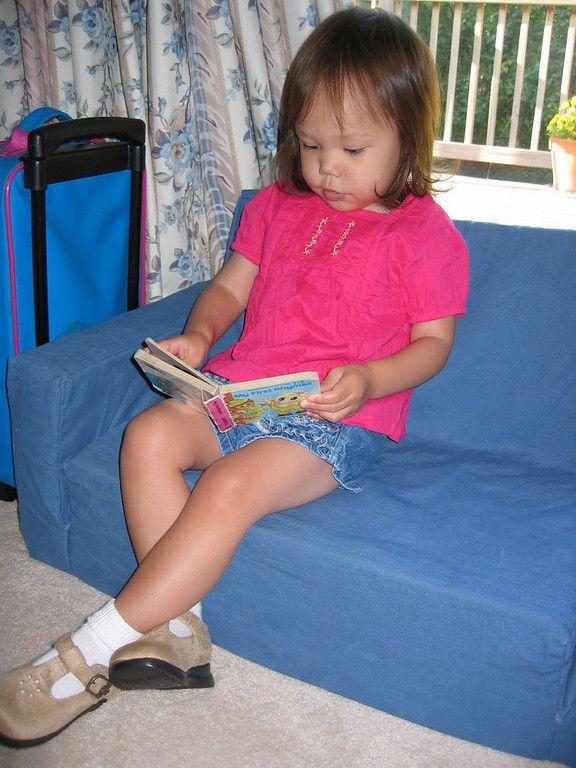 DIY Kids Foam Comvertible Sofa Chair