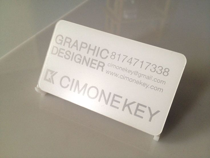 19 best plastic business cards images on pinterest plastic plastic business card thats white with laser engraving to transparent reheart Gallery