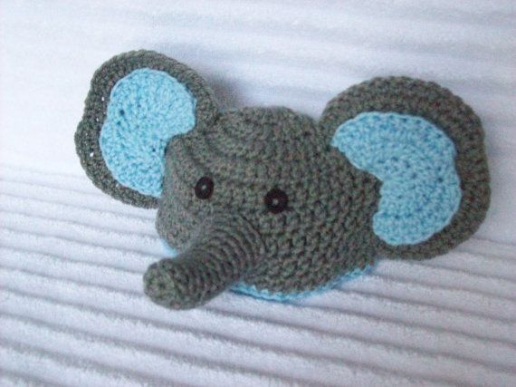 Baby Elephant hat newborn elephant beanie by NikkisCraftShoppe, $18.00