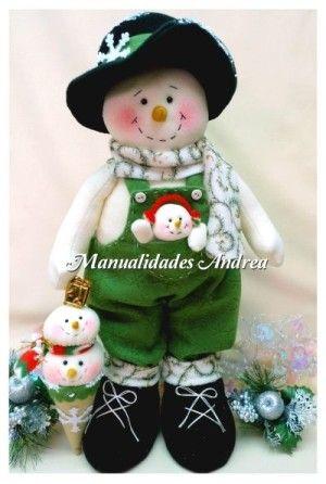 ideas-para-decoracion-con-monos-de-nieve-de-fieltro (44)