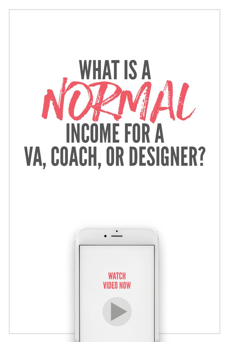 """""""What is a normal income for a VA, coach, or designer? STARTING SOON!! Sign up for 5 days of free training with the new challenge - Screw Feelings, Get Clients! Go here to start -> https://evolv.ly/screw-feelings"""""""