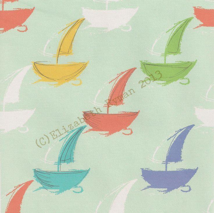 'Sailing Home...' (c)ElizabethRyman2013 for www.cinnamontoastdesigns.com