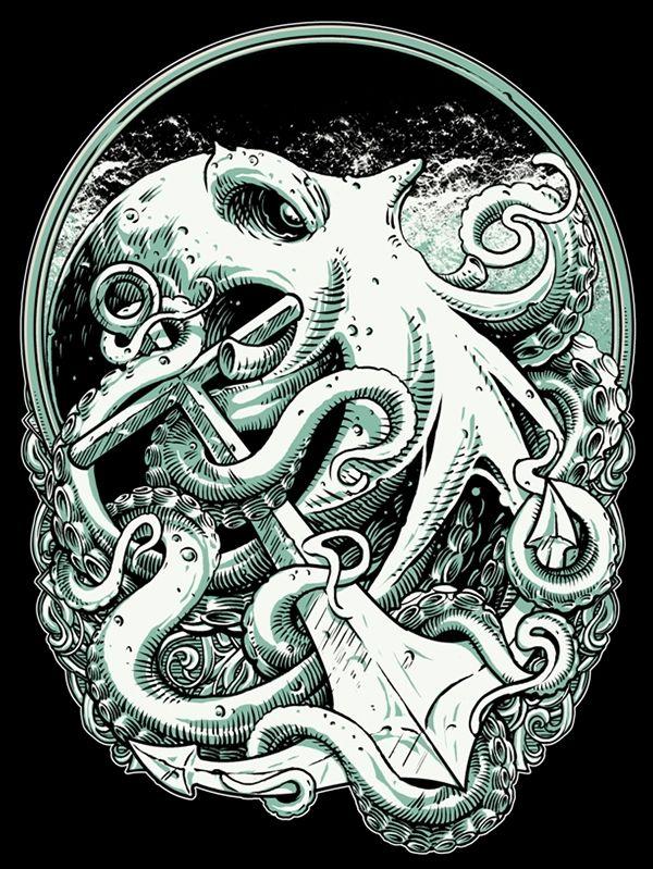 Octopus by Eky Glojor