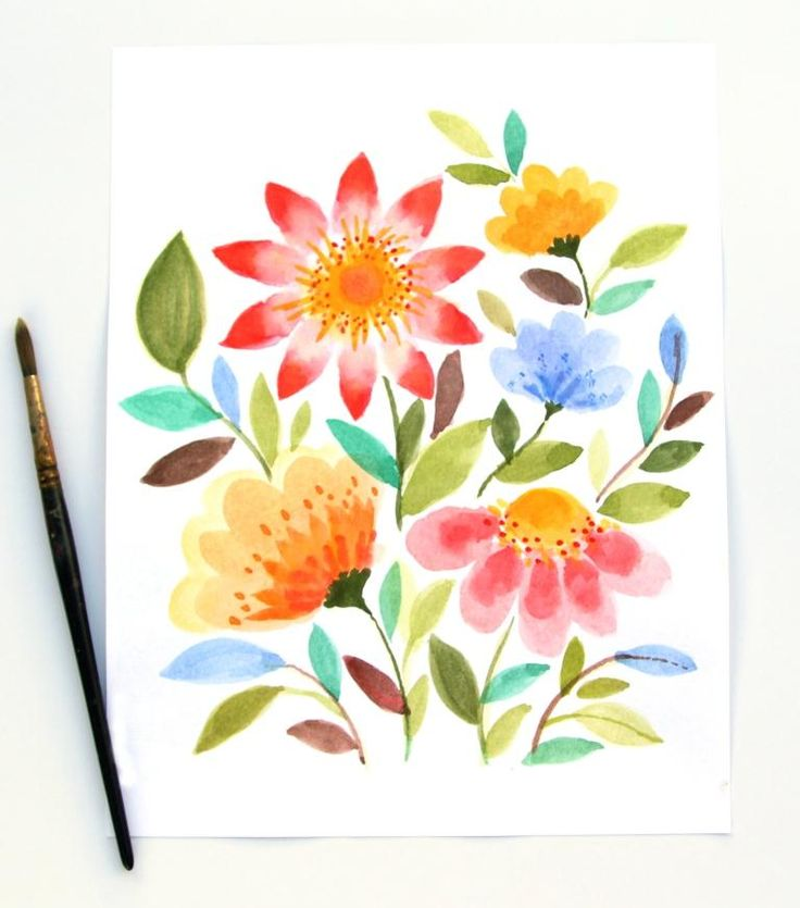 Did you see this lovely DIY watercolor tutorialin the Flow Illustratiespecial (Dutch)?