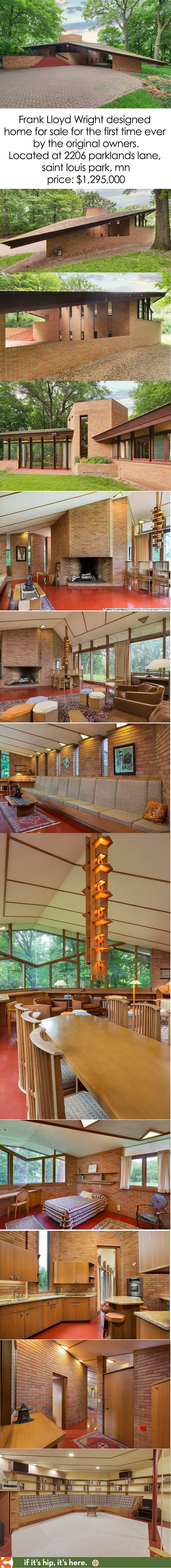 1361 best architecture images on Pinterest | Frank lloyd wright ...