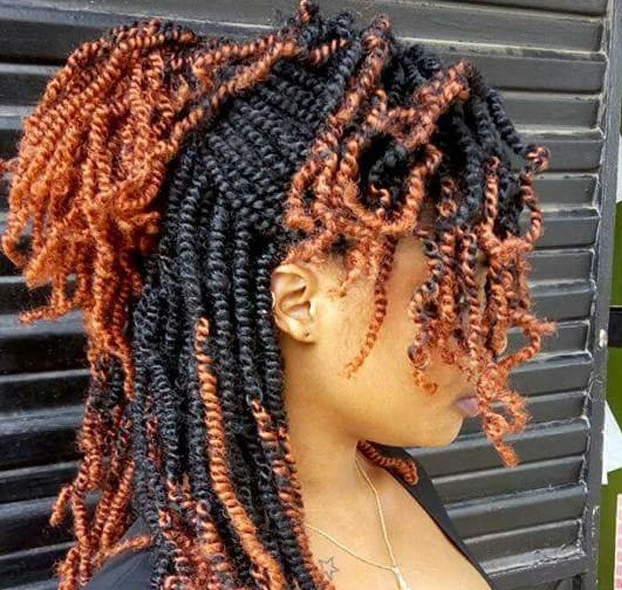 Crochet Braid Natural Hair Styles African Braids Hairstyles Twist Hairstyles