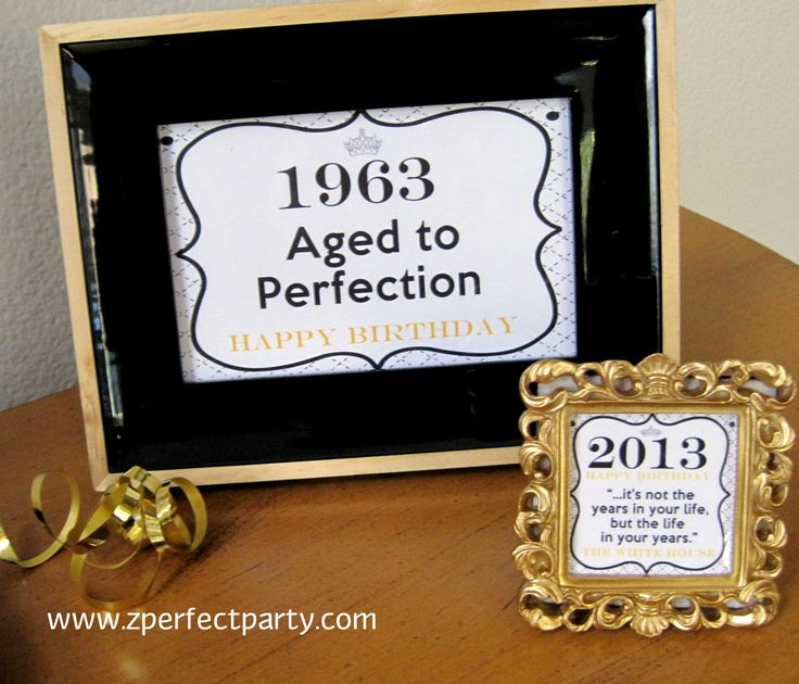 27 Best Images About 50th Birthday Ideas On Pinterest