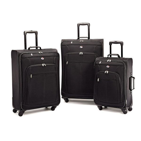 Good Quality Material Extra Large Space Totally Water Proof Free Shipping On The Product American Tourister 3 Piece Luggage Set Luggage
