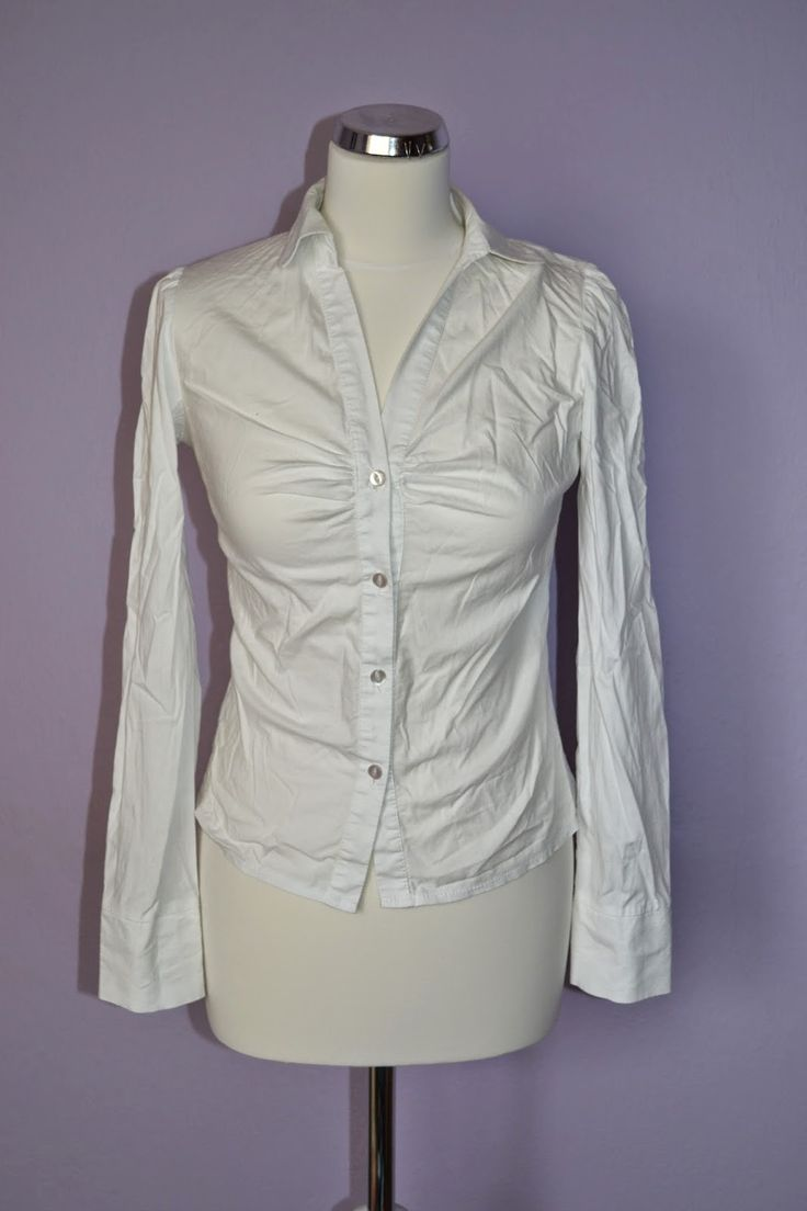 The way on a white shirt. Clic on the picture and check it out at http://refashionclothes.blogspot.com/