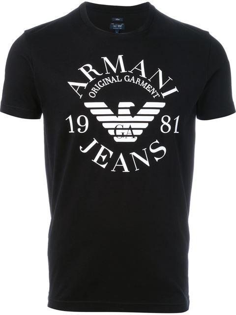 Armani Jeans Camiseta com logo