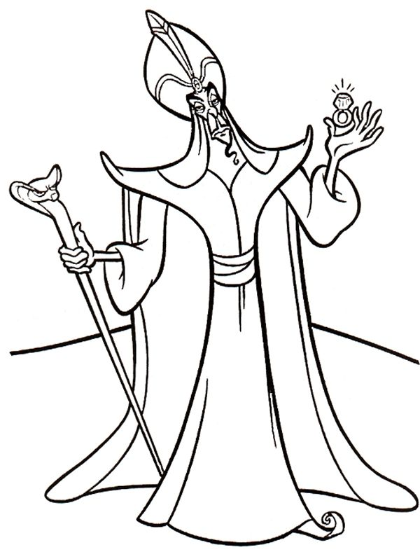 Disney Villains Coloring Pages Best Coloring Pages Disney