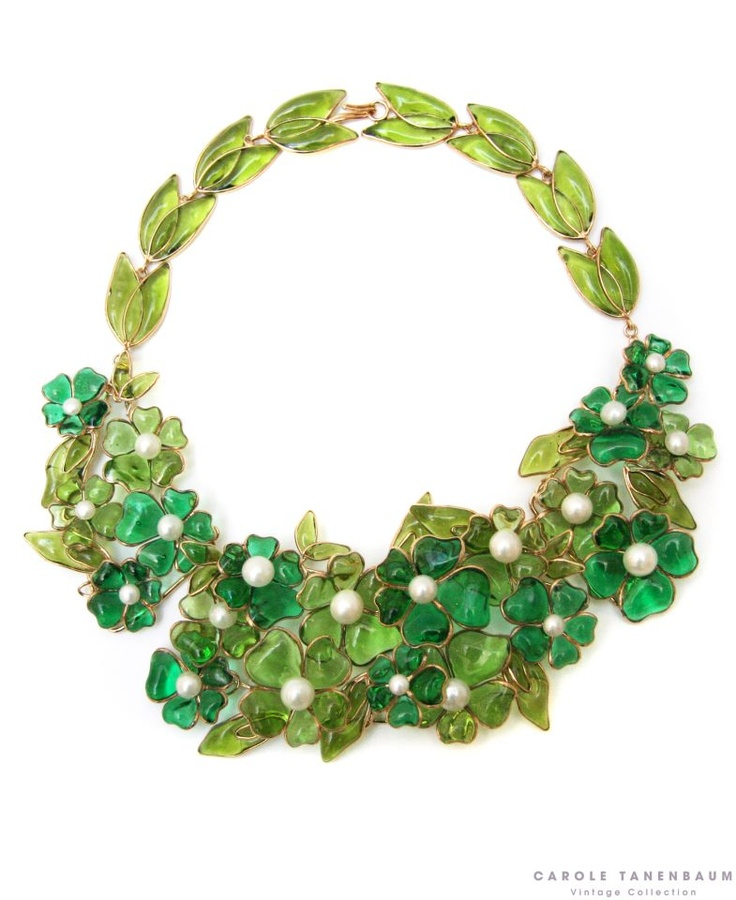 139 best Gripoix, Poured Glass Jewellery images on Pinterest ...