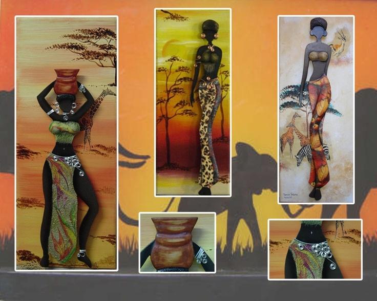 M s de 1000 im genes sobre pinturas africana en pinterest - Pinturas para pintar madera ...