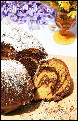 Marmorkuchen German Marble Cake Posted On April 20