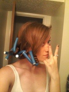 This works!!!!! No heat curls. Seriously.