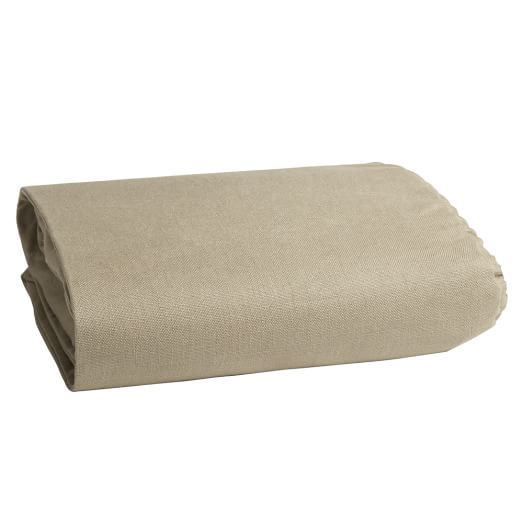 Nailhead Upholstered Daybed Mattress Cover, Gray Haze