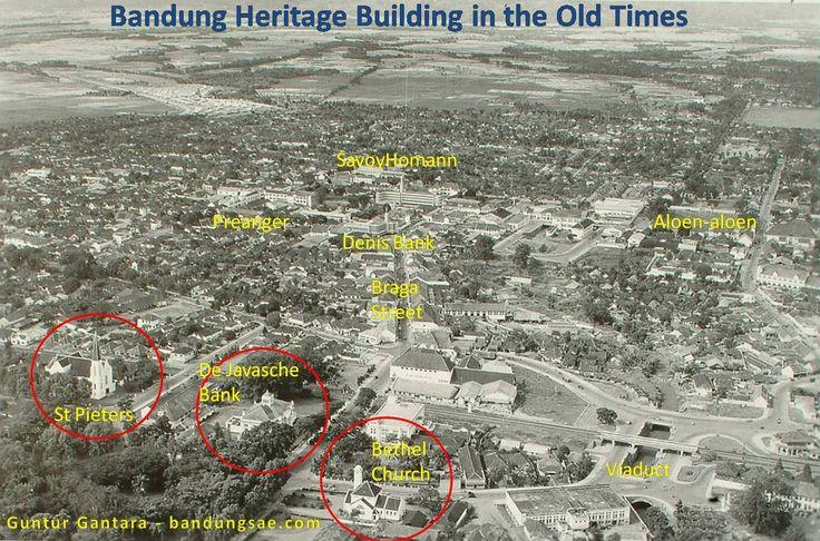 Bandung Heritage buildings