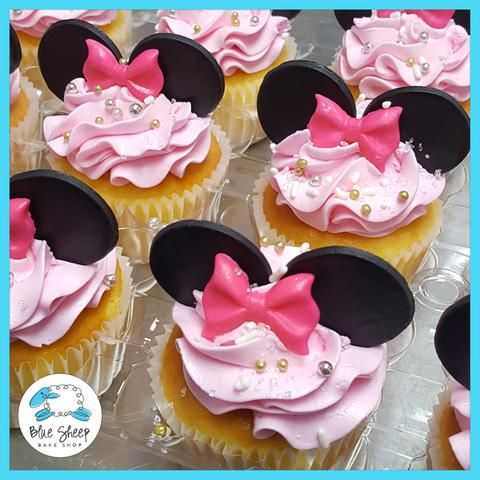 minnie mouse inspired cupcakes nj
