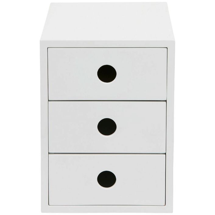 Otto 3 Drawer Cabinet White Org In 2019 Drawers Cabinet