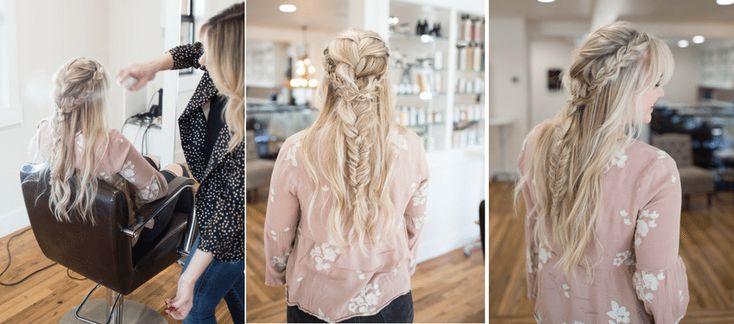 Hair // Boho Messy Braid Tutorial