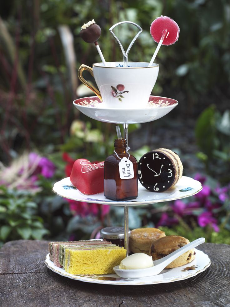 MadHatters Afternoon Tea, @Sanderson Hotel.