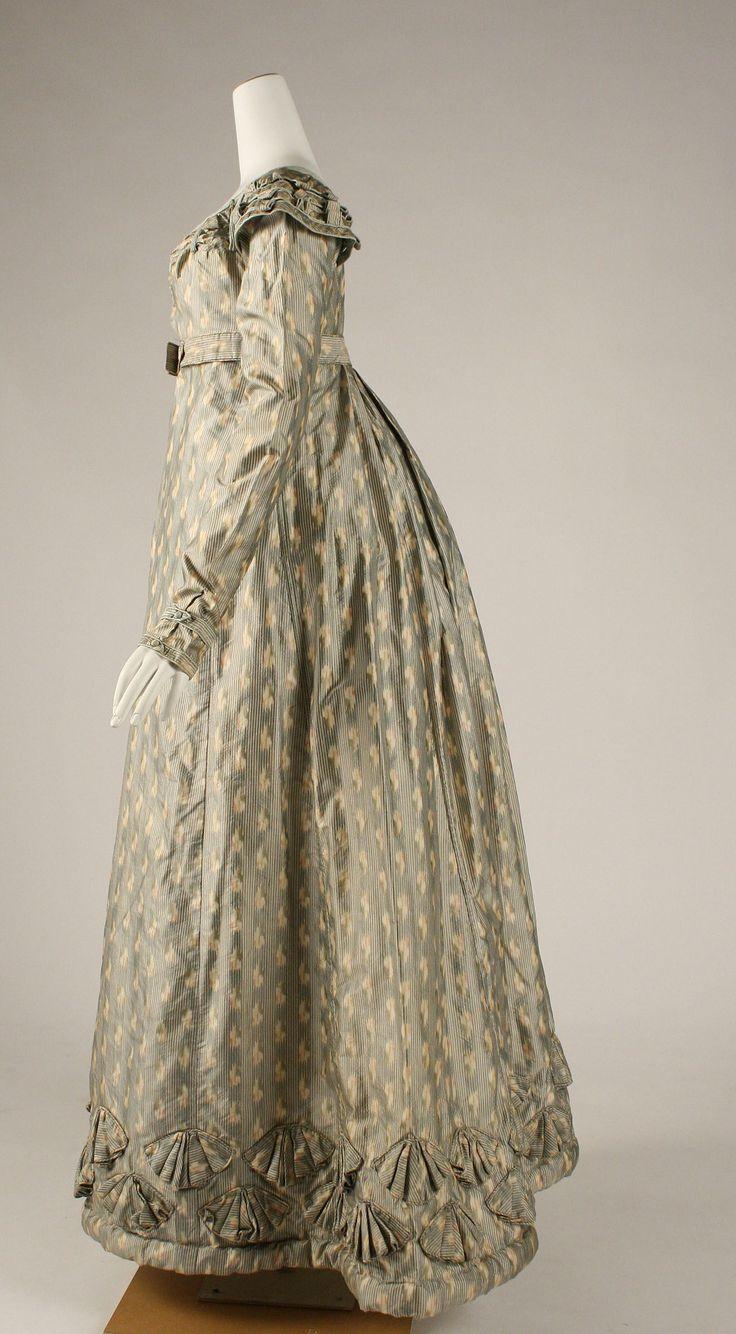 Dress, ca. 1820, British, silk, Metropolitan Museum of Art, 1971.242.1a–e