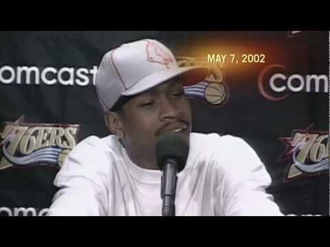 Allen Iverson Practice Rant - 10 year anniversary
