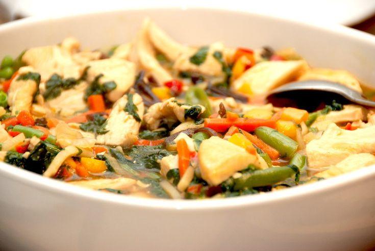 Chop suey lyder kinesisk, men faktisk er det en ret, der er opfundet i USA. Der er tale om lynstegt kylling og grøntsager i sovs, der laves af bouillon.
