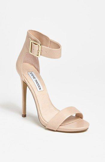 Ankle strap heels.