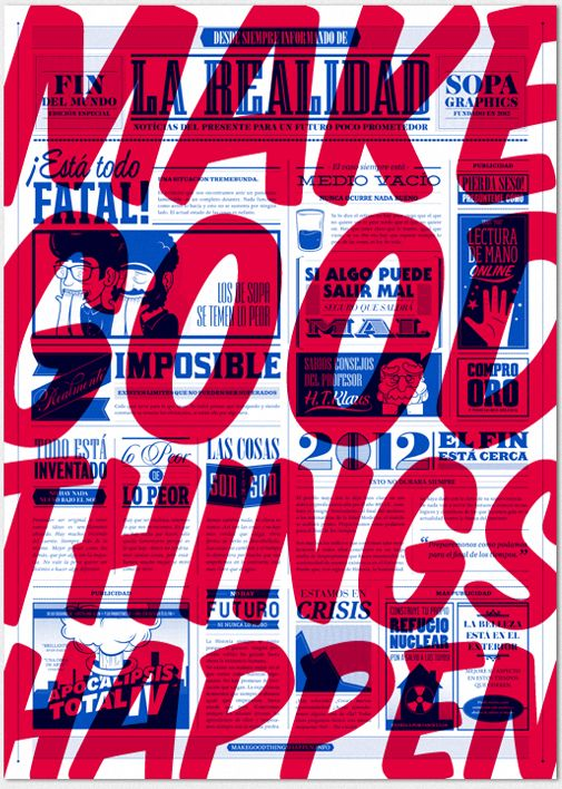 good things: Good Things, Things Happen, Typography Quotes, Motivation Quotes, Graphics Design, Greeting Cards, Motivation Posters, Inspiration Quotes, Design Posters