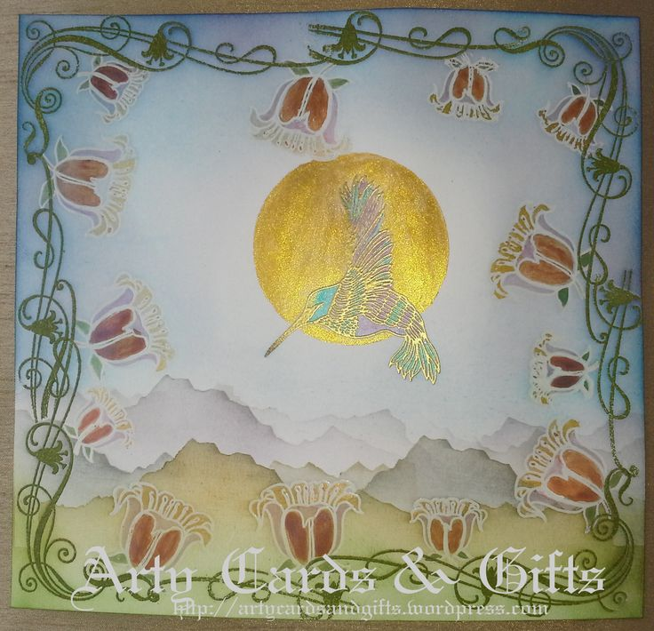 My project for the theme of Nature Clarity Stamp Blog Challenge August 2014. See my blog for details.