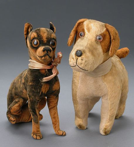 vintage toy dogs