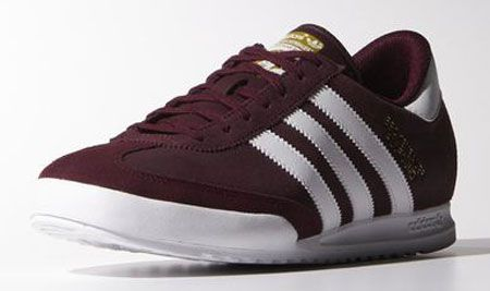 1980s Adidas Beckenbauer trainers return in two new suede finishes