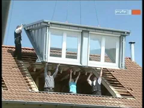 Das SPS-Team baut Ihre neuen Dachgauben in nur einem Tag in das Dach Ihres Hauses ein: wind- & wasserdicht, termingenau, in dauerhaft zuverlässiger Qualität