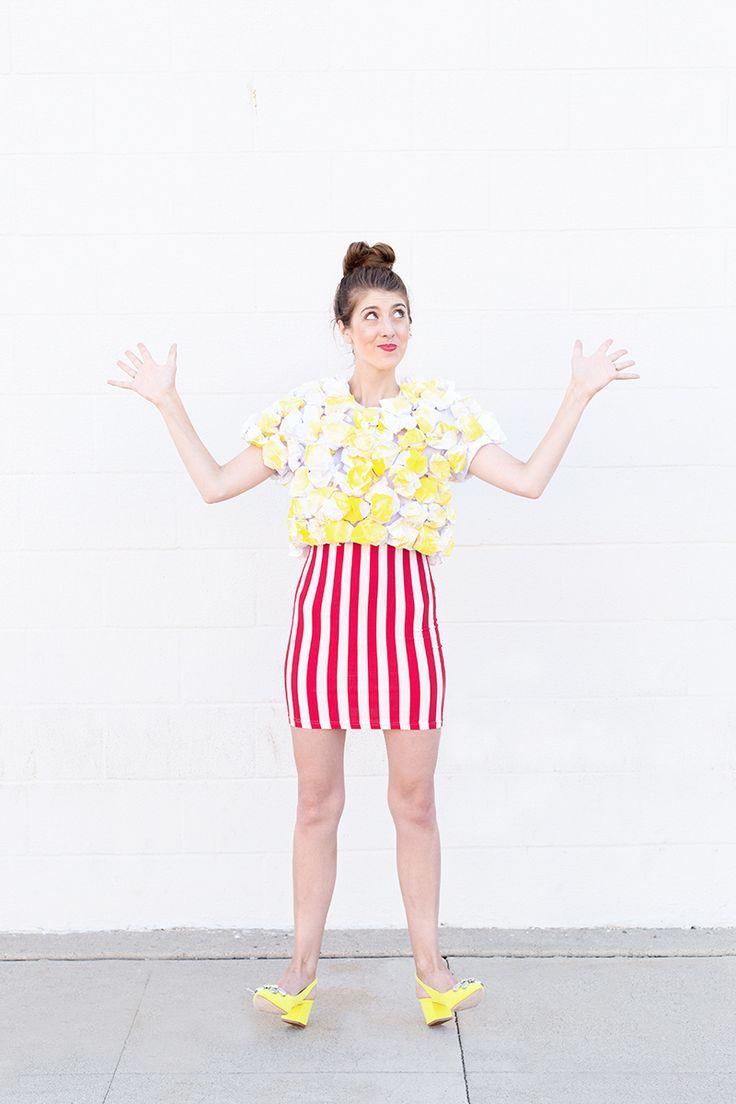 DIY Popcorn Costume   studiodiy.com