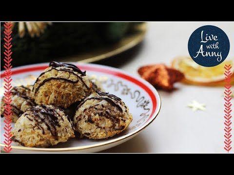 Jednoduché kokosky | zdravější Vánoce | pouze ze 3 surovin