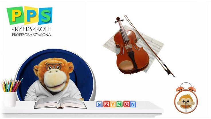 Poznajemy instrumenty - muzyka dla dzieci - Przedszkole Profesora Szymona