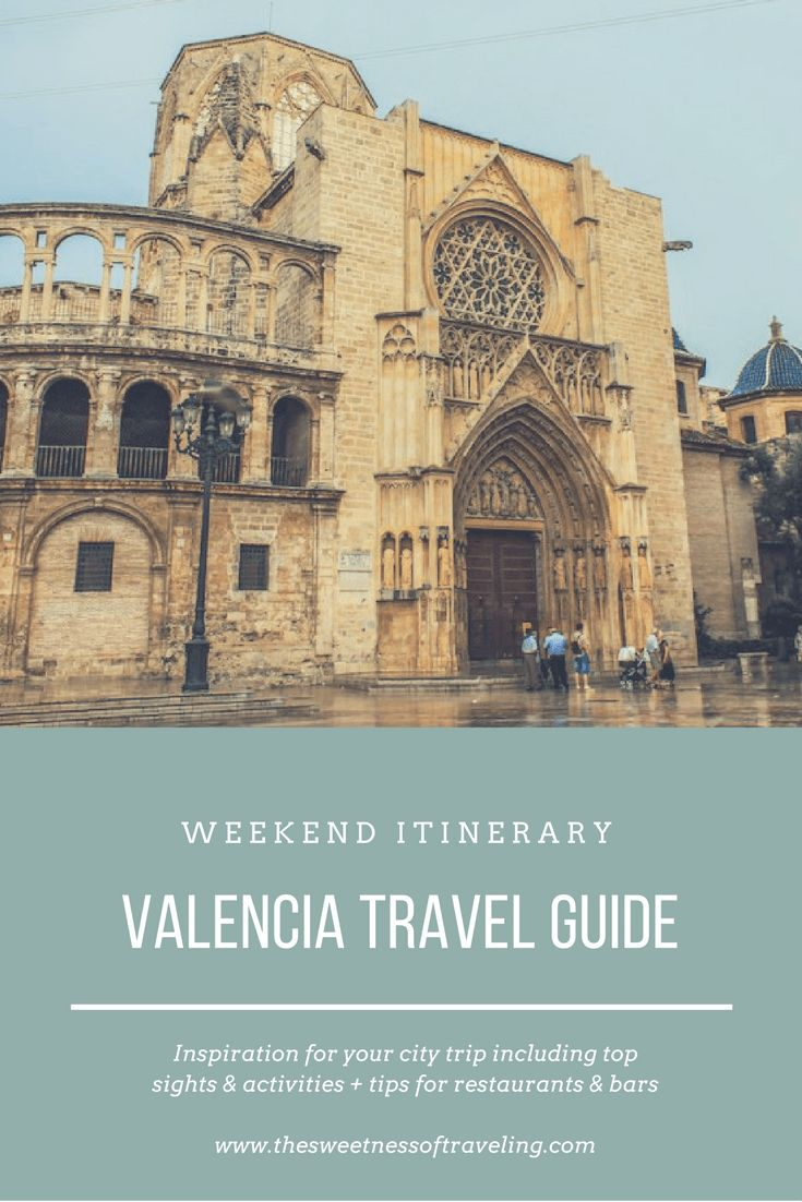 Valencia City Guide and itinerary for a weekend (2-3 days). Travel blog with advice on top sights and activities and good restaurants and bars in Valencia.