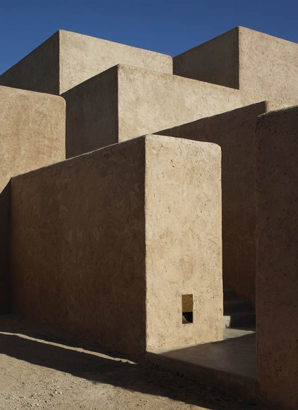 Villa K, in Tagadert, (near Marrakesh) Morocco. Architecture by studio KO.