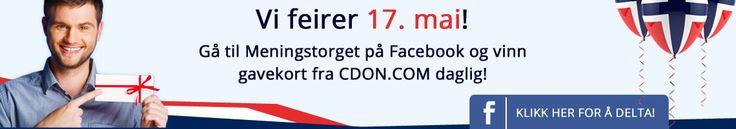 Vi feirer 17. mai!  Gå til Meningstorget på Facebook og vinn gavekort fra CDON.COM daglig! #nasjonaldag #17mai