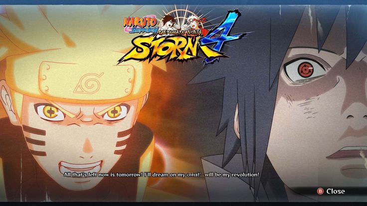 [PC] NARUTO SHIPPUDEN: Ultimate Ninja Storm 4: FINISH SCAN Full Characte...