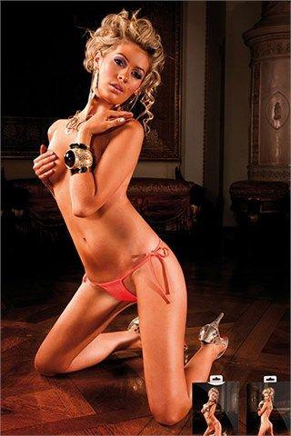 Σέξι string Baci Lingerie πορτοκαλί   BACI LINGERIE, Sexy babe